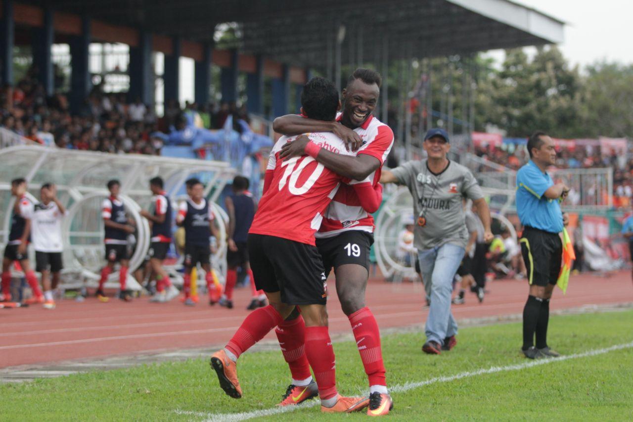 Madura United Terus Asah Finishing Touch