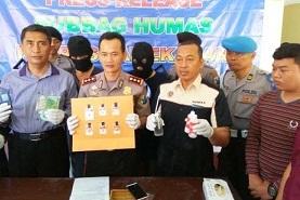 Polisi Bekuk Dua Bandar Narkoba Madura