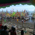 Ragam Hiasan Perahu Nelayan, Warga Pasean Sambut Ritual Petik Laut