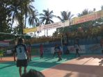 Tiap Hari, Turnamen Volly Purnama Cup Tembus 800 Penonton