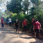 Peduli Lingkungan, Mahasiswa UMM Kerja Bakti Bersama Warga