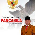 Anggota DPRD Bangkalan H Subaidi Mengucapkan Selamat Hari Lahir Pancasila