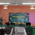 Peringati HSN 2020, GP Ansor Sampang Gelar FGD