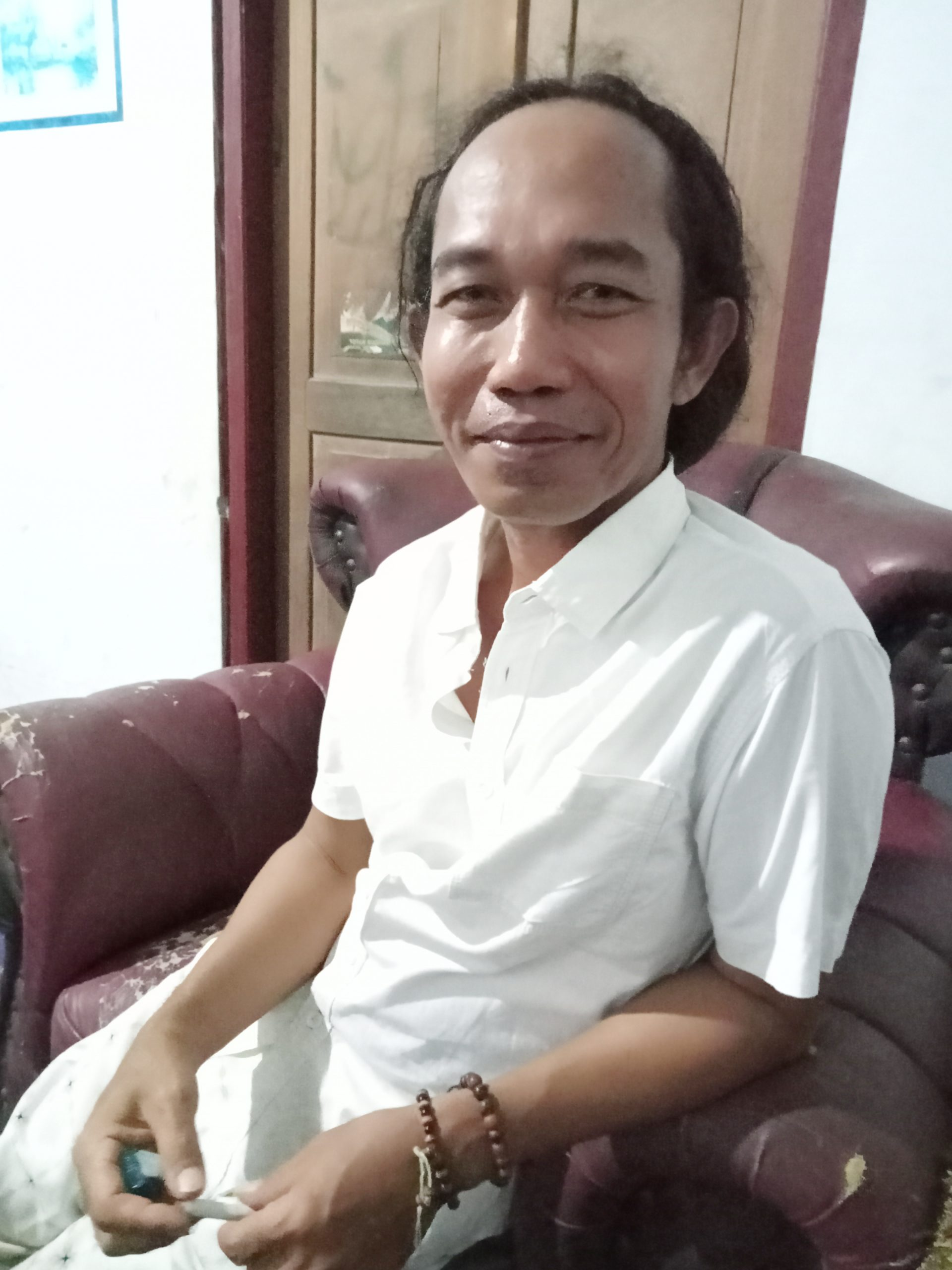 Imron Gondrong mirip Jokowi (Dok foto : Yud)