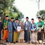 IPNU-IPPNU Larangan Luar Blusukan Bagi-Bagi Sembako ke 14 Dusun