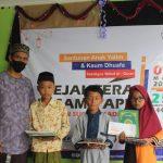 Ramadhan Berkah, APB Santuni Anak Yatim dan Duafa serta Wakafkan Al-Quran