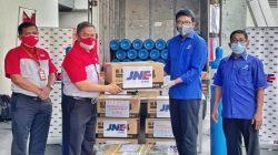 JNE Galang Donasi dan Kirim Tabung Oksigen Gratis Untuk Rumah Sakit di Seluruh Indonesia