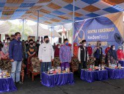 Bupati Hendy Apresiasi Vaksinasi Mandiri DPD Partai NasDem  Jember