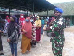 Kodam V/ Brawijaya Bagikan Masker dan Sembako di Sumenep