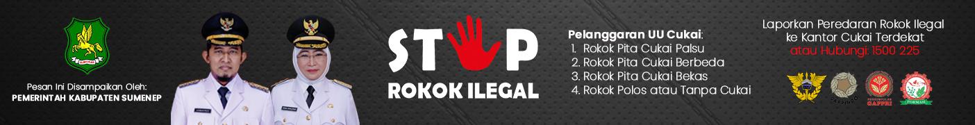 Iklan Stop Rokok Ilegal Sumenep